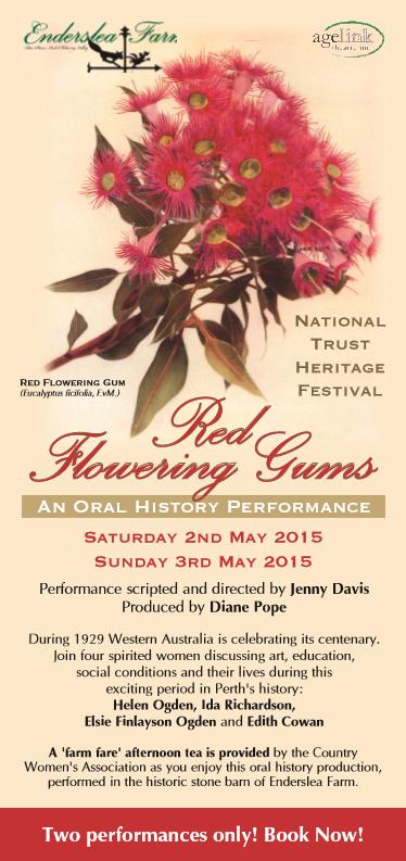 Red Flowering Gums Enderslea Farm 1